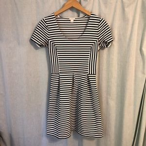 J. Crew Dresses - J. Crew Striped Scoop Neck Dress